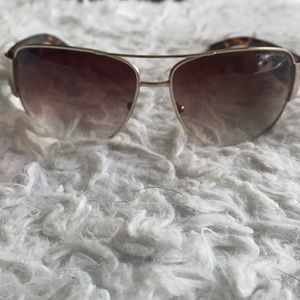 ARMANI EXCHANGE tortoise shell print sunglasses